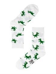 Носки Динозавры ZAIN 024 белые