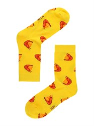 Носки Креветки ZAIN 025 желтые