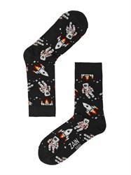 Носки Астронавт ZAIN 061 чёрные