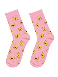 Носки Авокадо ZAIN 021 розовые