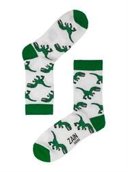 Носки Динозавры ZAIN 060 белые