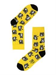 Носки Еноты ZAIN 009 желтые