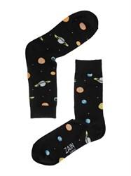 Носки Космос ZAIN 092 черные